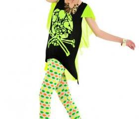 Yellow green Skull T-Shirt New Stylish Designer's T-Shirts Fashion Clothing