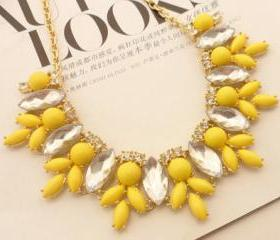 Jewelry Sapphire necklace A-324 fashion